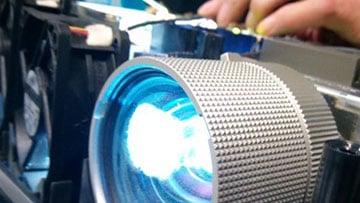 Bild Beamer Ersatzlampe Wechsel Service, Beamerlampen