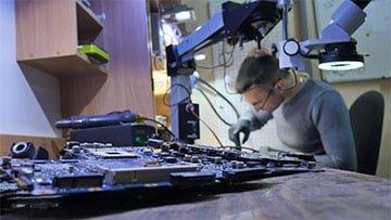 Bild Beamer Reparatur Unternehmen - unsere Werkstatt